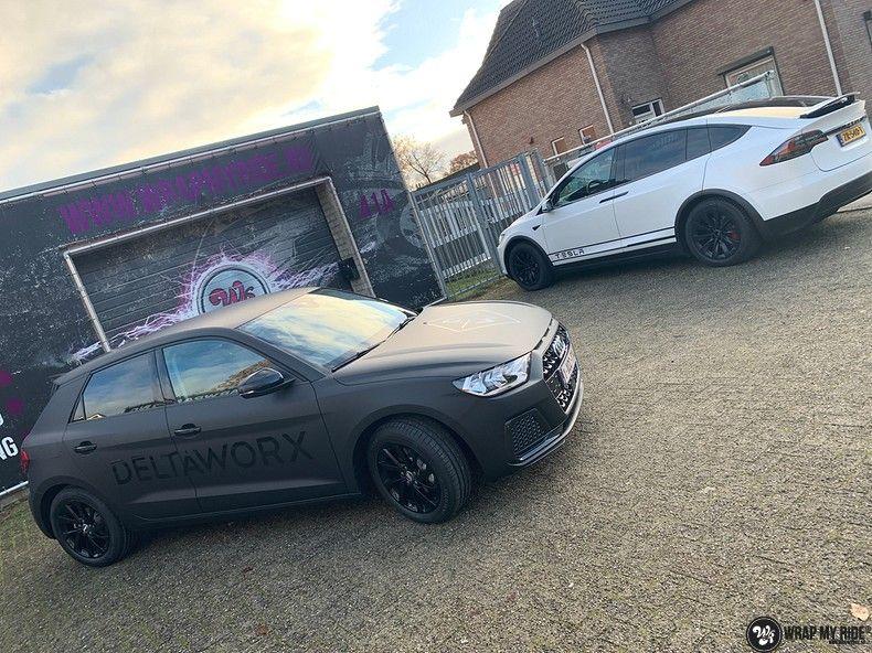 Audi A1 2019 Deltaworx, Carwrapping door Wrapmyride.nu Foto-nr:12962, ©2020