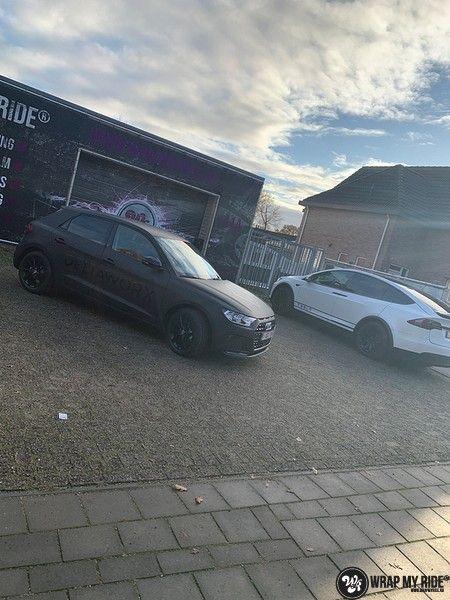 Audi A1 2019 Deltaworx, Carwrapping door Wrapmyride.nu Foto-nr:12963, ©2020