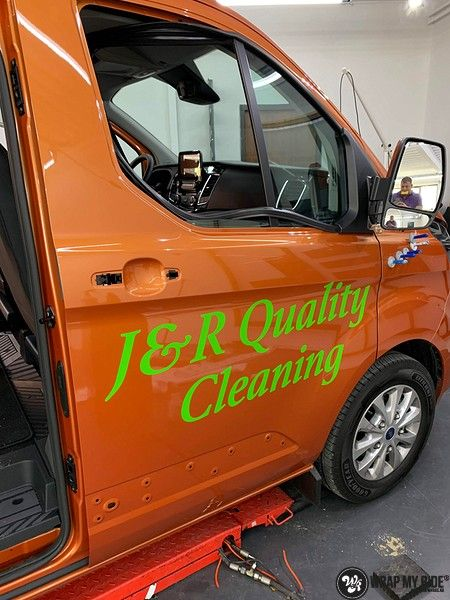 Ford Transit, Carwrapping door Wrapmyride.nu Foto-nr:13159, ©2020