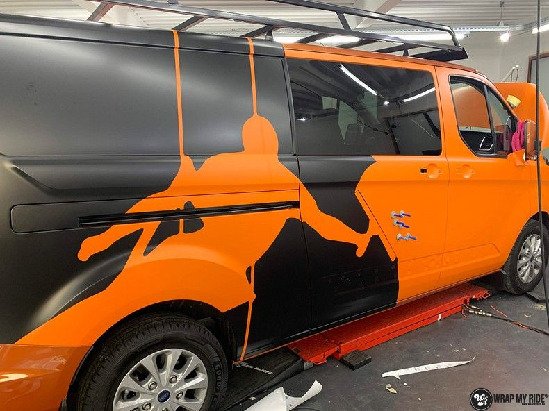 Ford Transit, Carwrapping door Wrapmyride.nu Foto-nr:13168, ©2020