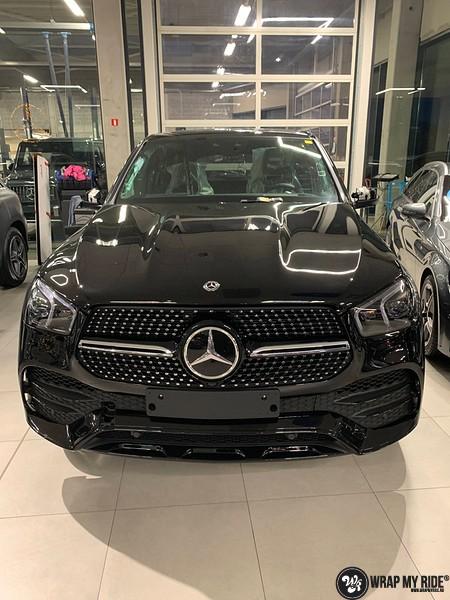 Mercedes GLE AMG Satin Black, Carwrapping door Wrapmyride.nu Foto-nr:13903, ©2021