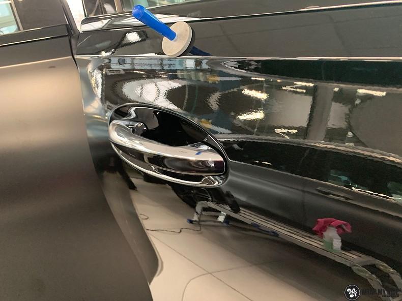 Mercedes GLE AMG Satin Black, Carwrapping door Wrapmyride.nu Foto-nr:13905, ©2021
