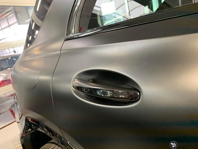 Mercedes GLE AMG Satin Black, Carwrapping door Wrapmyride.nu Foto-nr:13907, ©2021