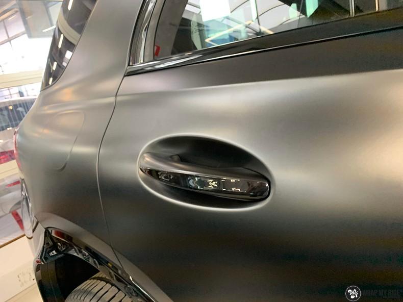 Mercedes GLE AMG Satin Black, Carwrapping door Wrapmyride.nu Foto-nr:13908, ©2021