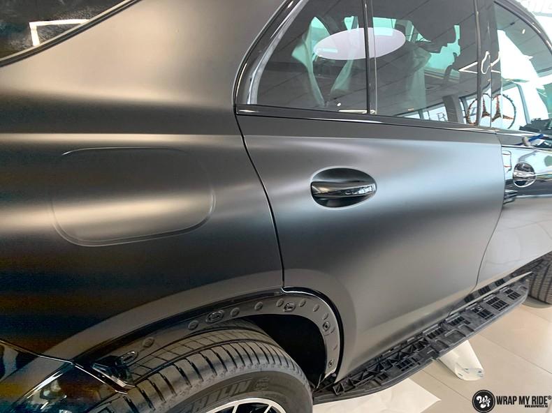 Mercedes GLE AMG Satin Black, Carwrapping door Wrapmyride.nu Foto-nr:13910, ©2021