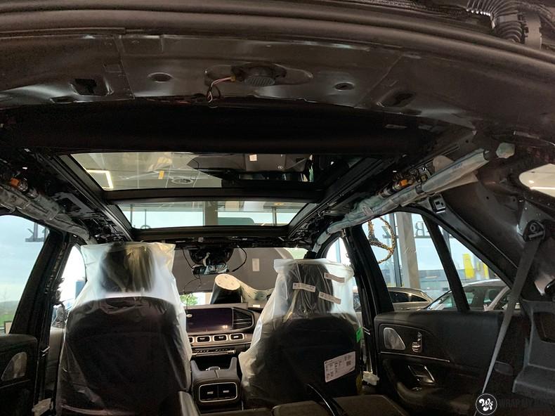 Mercedes GLE AMG Satin Black, Carwrapping door Wrapmyride.nu Foto-nr:13911, ©2021
