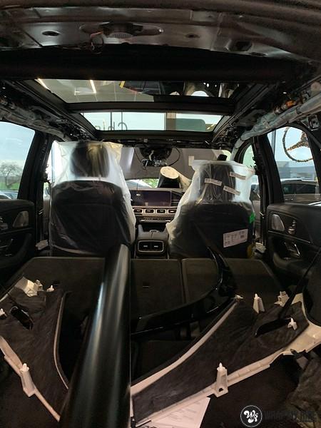 Mercedes GLE AMG Satin Black, Carwrapping door Wrapmyride.nu Foto-nr:13912, ©2021