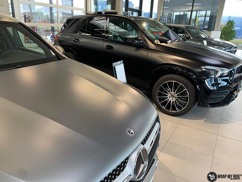 Mercedes GLE AMG Satin Black, Carwrapping door Wrapmyride.nu Foto-nr:13914, ©2021