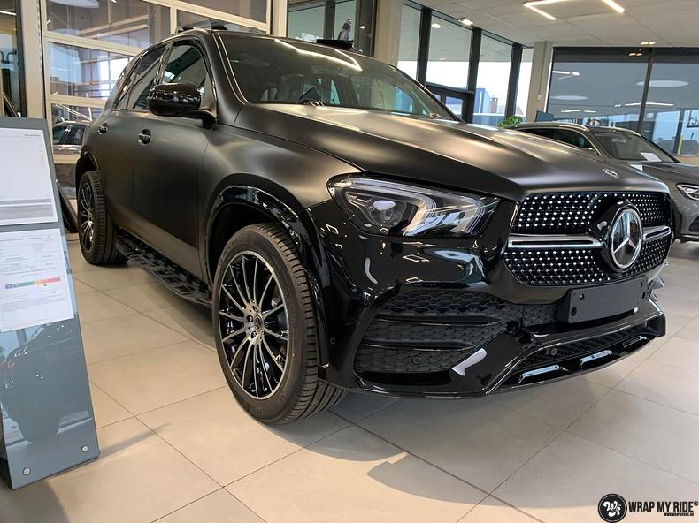 Mercedes GLE AMG Satin Black, Carwrapping door Wrapmyride.nu Foto-nr:13917, ©2021