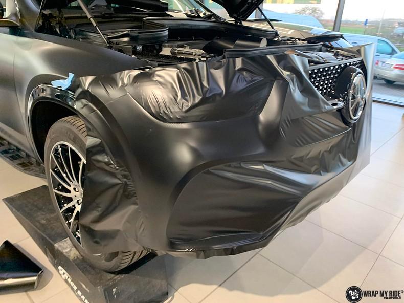 Mercedes GLE AMG Satin Black, Carwrapping door Wrapmyride.nu Foto-nr:13924, ©2021