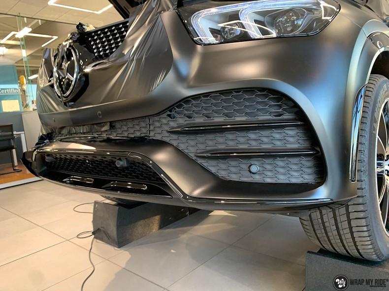 Mercedes GLE AMG Satin Black, Carwrapping door Wrapmyride.nu Foto-nr:13926, ©2021