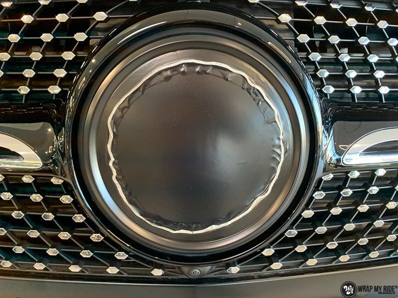 Mercedes GLE AMG Satin Black, Carwrapping door Wrapmyride.nu Foto-nr:13931, ©2021