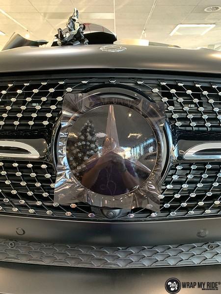 Mercedes GLE AMG Satin Black, Carwrapping door Wrapmyride.nu Foto-nr:13933, ©2021