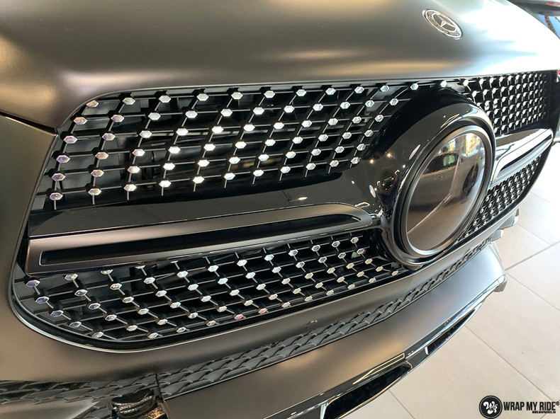 Mercedes GLE AMG Satin Black, Carwrapping door Wrapmyride.nu Foto-nr:13935, ©2021