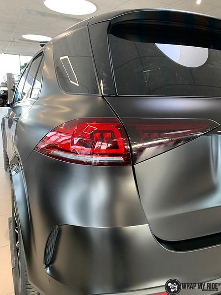 Mercedes GLE AMG Satin Black, Carwrapping door Wrapmyride.nu Foto-nr:13941, ©2021
