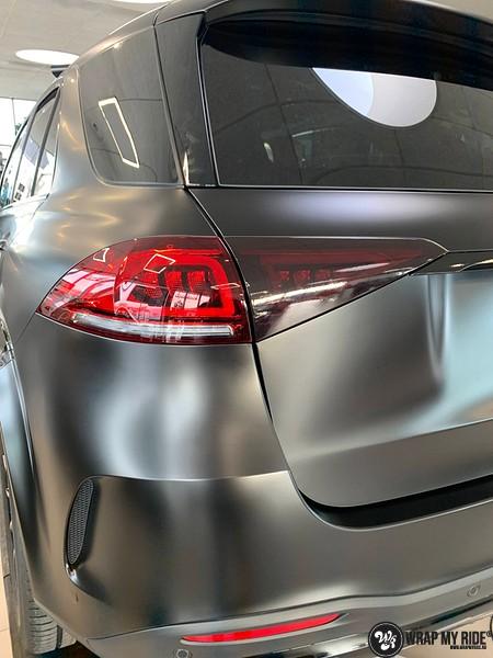Mercedes GLE AMG Satin Black, Carwrapping door Wrapmyride.nu Foto-nr:13942, ©2021