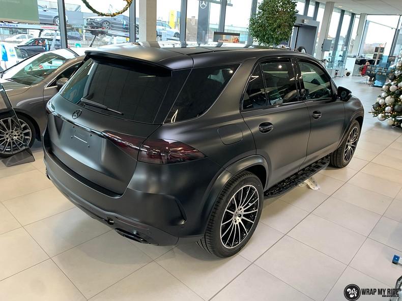 Mercedes GLE AMG Satin Black, Carwrapping door Wrapmyride.nu Foto-nr:13950, ©2021
