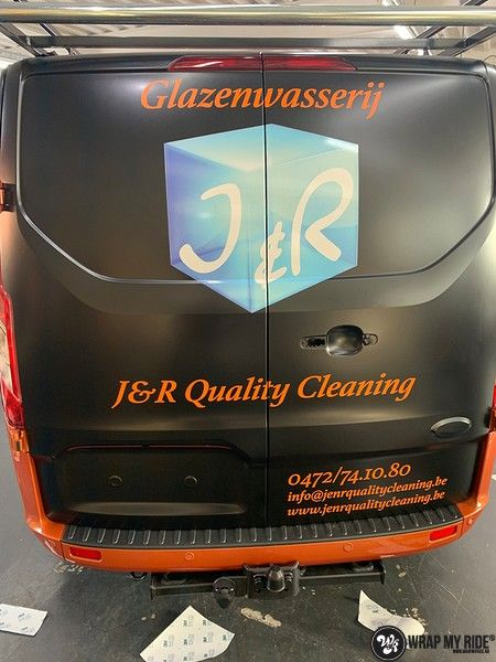 Ford Transit, Carwrapping door Wrapmyride.nu Foto-nr:13169, ©2021