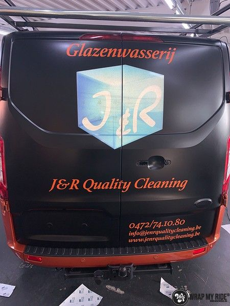 Ford Transit, Carwrapping door Wrapmyride.nu Foto-nr:13170, ©2020