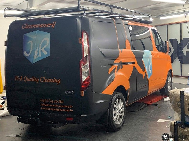 Ford Transit, Carwrapping door Wrapmyride.nu Foto-nr:13173, ©2021