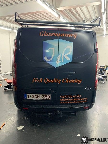 Ford Transit, Carwrapping door Wrapmyride.nu Foto-nr:13174, ©2021