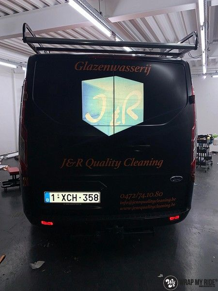 Ford Transit, Carwrapping door Wrapmyride.nu Foto-nr:13175, ©2020