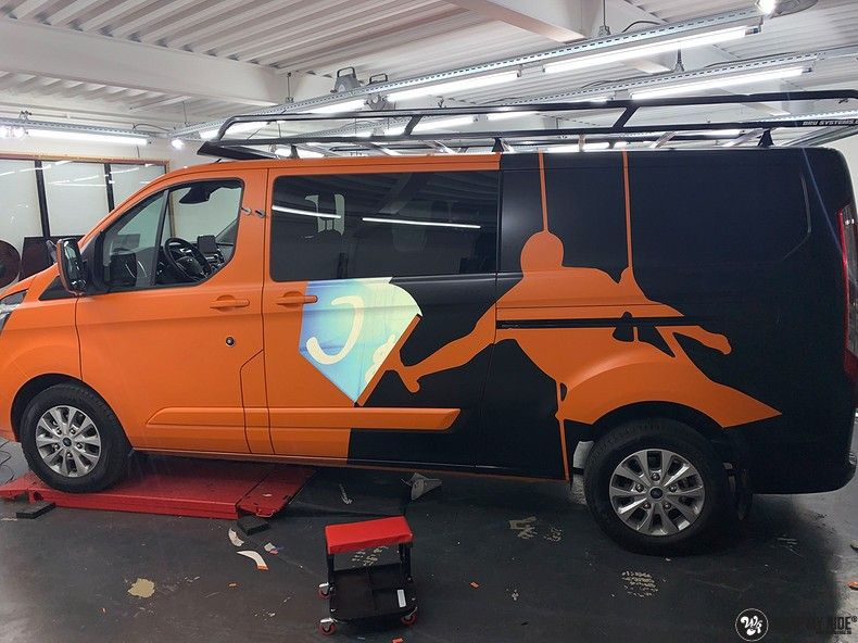 Ford Transit, Carwrapping door Wrapmyride.nu Foto-nr:13176, ©2021