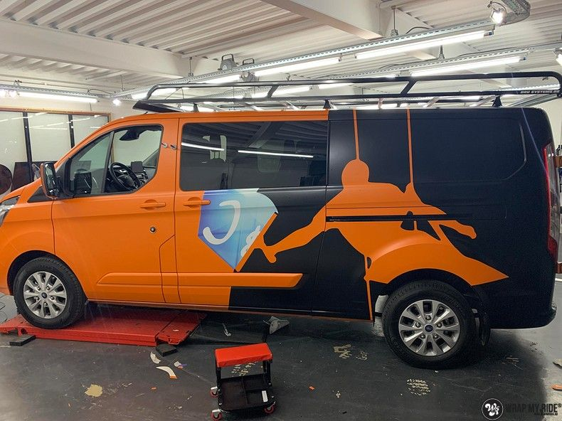 Ford Transit, Carwrapping door Wrapmyride.nu Foto-nr:13177, ©2021