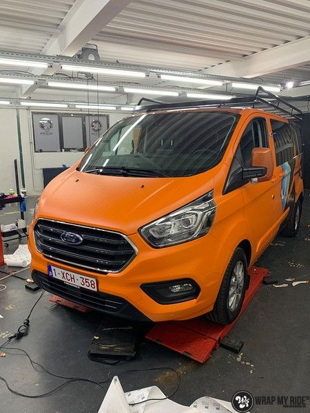 Ford Transit, Carwrapping door Wrapmyride.nu Foto-nr:13179, ©2021