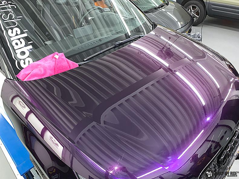 Audi A1 inozotec midnight purple, Carwrapping door Wrapmyride.nu Foto-nr:13714, ©2020