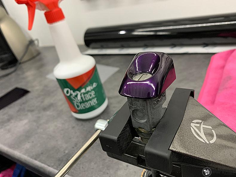 Audi A1 inozotec midnight purple, Carwrapping door Wrapmyride.nu Foto-nr:13723, ©2020