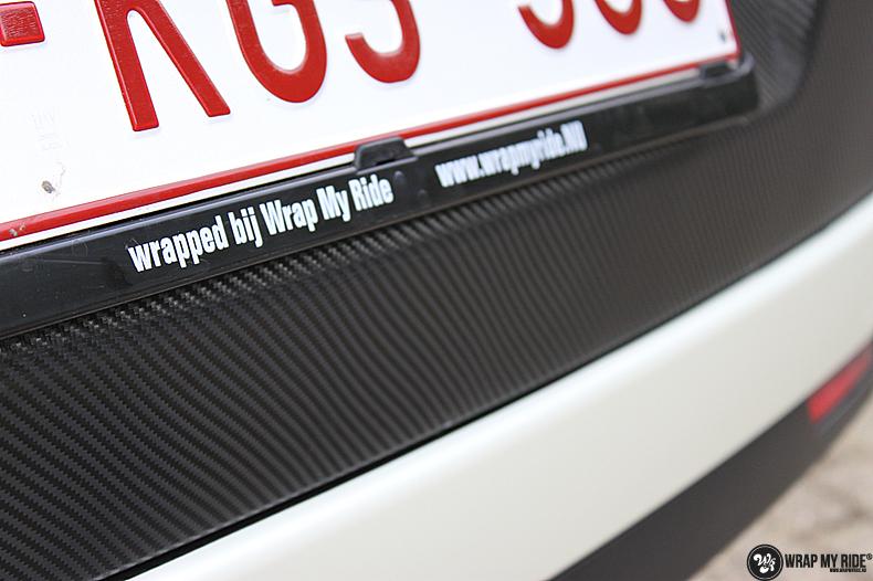 Fiat Dobla Satin Pearl White, Carwrapping door Wrapmyride.nu Foto-nr:13481, ©2021