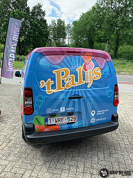 Renault full colour 'T Palijs, Carwrapping door Wrapmyride.nu Foto-nr:13439, ©2020