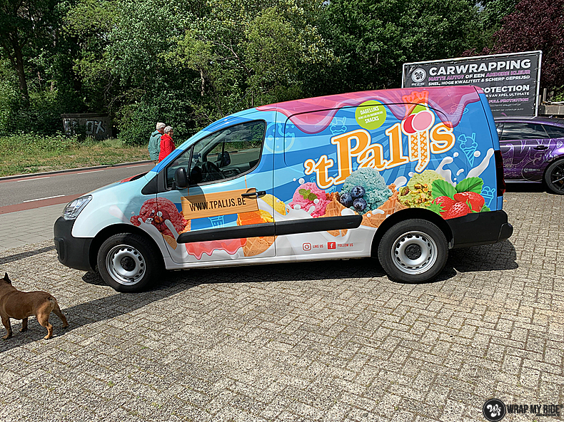 Renault full colour 'T Palijs, Carwrapping door Wrapmyride.nu Foto-nr:13438, ©2021