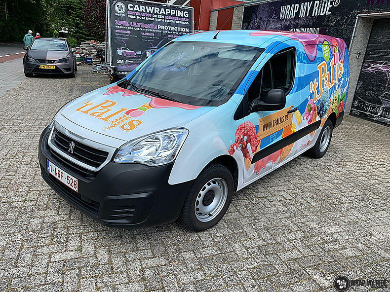 Renault full colour 'T Palijs, Carwrapping door Wrapmyride.nu Foto-nr:13437, ©2021