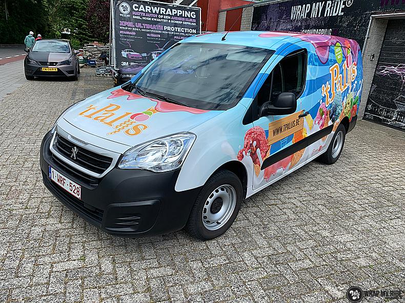 Renault full colour 'T Palijs, Carwrapping door Wrapmyride.nu Foto-nr:13437, ©2020