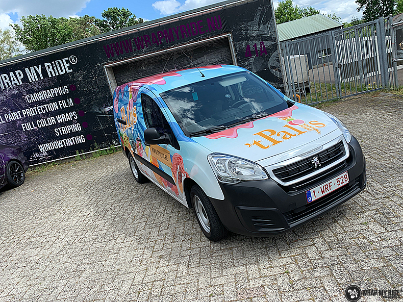 Renault full colour 'T Palijs, Carwrapping door Wrapmyride.nu Foto-nr:13435, ©2021