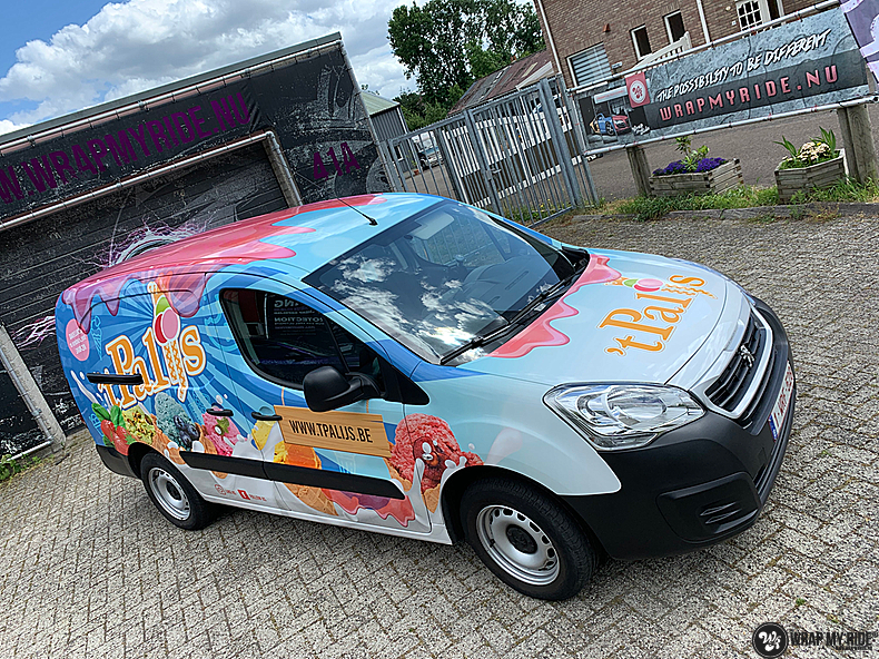 Renault full colour 'T Palijs, Carwrapping door Wrapmyride.nu Foto-nr:13433, ©2021