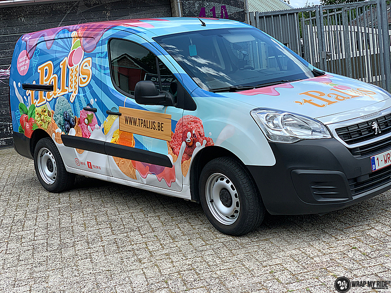 Renault full colour 'T Palijs, Carwrapping door Wrapmyride.nu Foto-nr:13430, ©2021