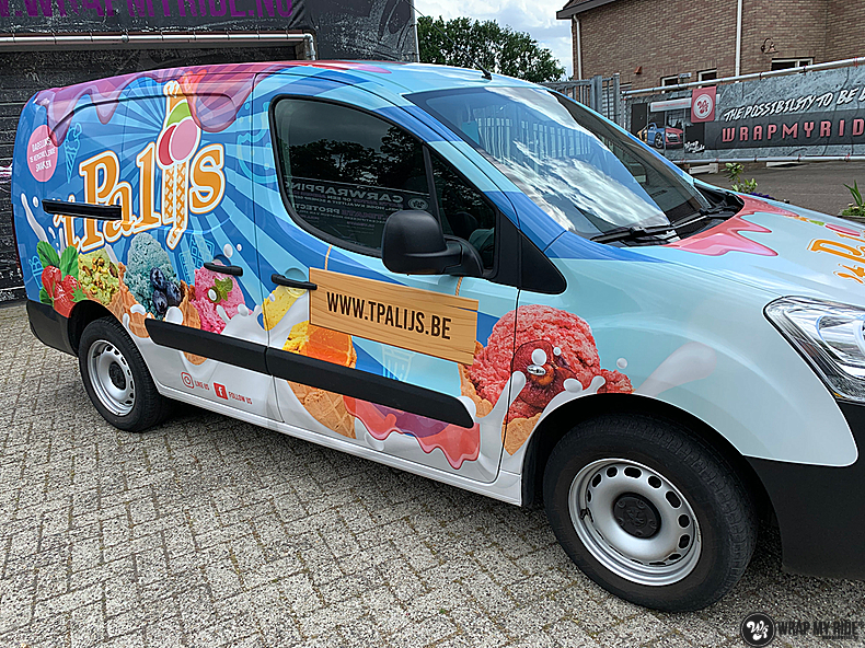 Renault full colour 'T Palijs, Carwrapping door Wrapmyride.nu Foto-nr:13429, ©2021