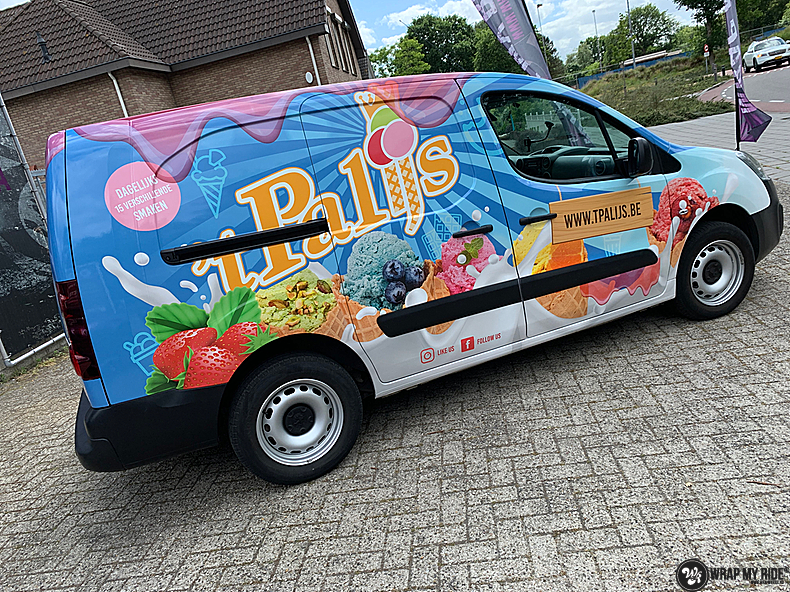 Renault full colour 'T Palijs, Carwrapping door Wrapmyride.nu Foto-nr:13428, ©2021