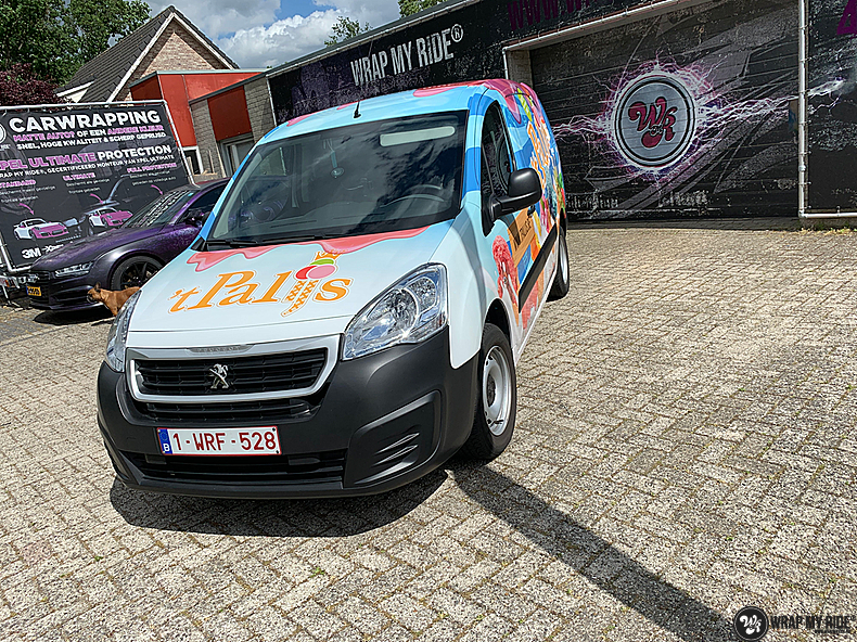 Renault full colour 'T Palijs, Carwrapping door Wrapmyride.nu Foto-nr:13425, ©2021