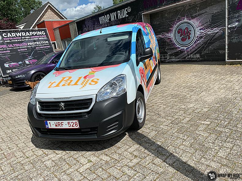 Renault full colour 'T Palijs, Carwrapping door Wrapmyride.nu Foto-nr:13425, ©2020