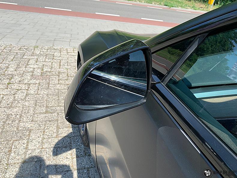 tesla model 3 Satin Black, Carwrapping door Wrapmyride.nu Foto-nr:13513, ©2021