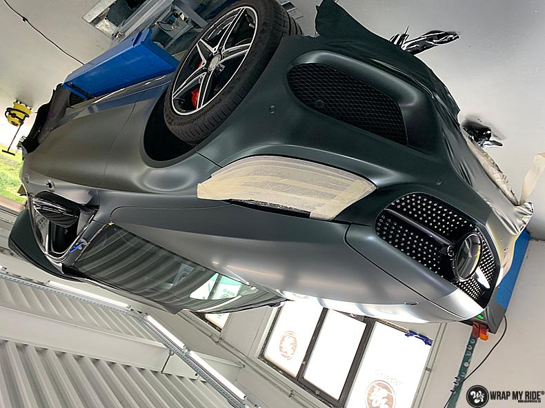 Mercedes C43 Matte Smaragd, Carwrapping door Wrapmyride.nu Foto-nr:13521, ©2020