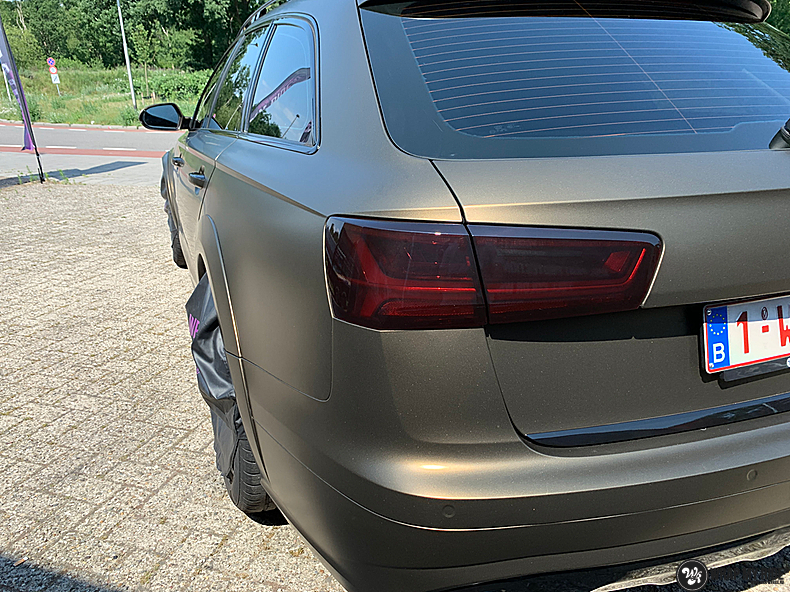 Audi A6 All-road Matte Bond Gold, Carwrapping door Wrapmyride.nu Foto-nr:13405, ©2020