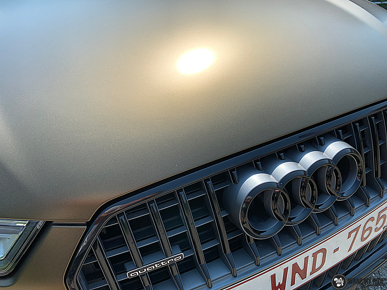 Audi A6 All-road Matte Bond Gold, Carwrapping door Wrapmyride.nu Foto-nr:13403, ©2021