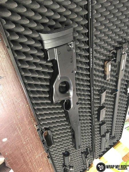 Airsoft Gun digital camo, Carwrapping door Wrapmyride.nu Foto-nr:11169, ©2019