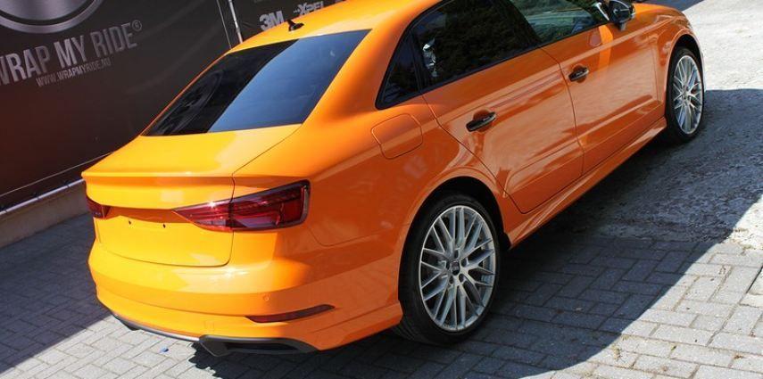 Audi A3 Gloss Burnt Orange