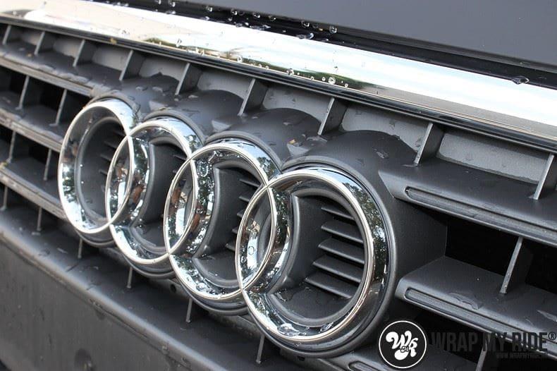 Audi A4 matte zwart, Carwrapping door Wrapmyride.nu Foto-nr:7915, ©2020